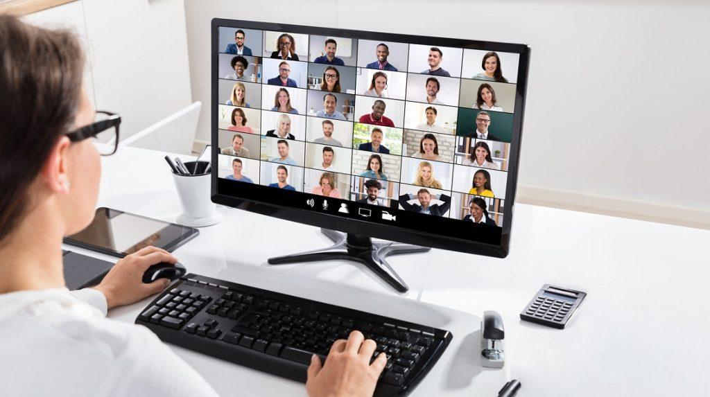 Virtual press conference
